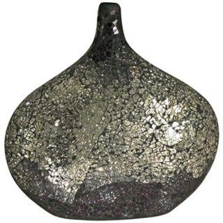 Dale Tiffany Quartz Mosaic Art Glass Vase   #X5065