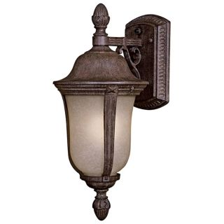 "Ardmore 17 1/2"" High Scavo Glass Outdoor Light   #30455"