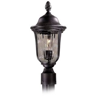 "Morgan Park Collection 17 1/2"" High Post Mount Outdoor Light   #36876"