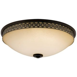 "Montague Bronze ENERGY STAR 16"" Wide Ceiling Light   #H9737"