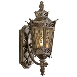 "La Avenio Collection 19"" High Outdoor Wall Light Fixture   #45291"