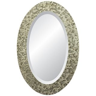 "Moulin Rouge Regent 30"" High Oval Wall Mirror   #X3059"