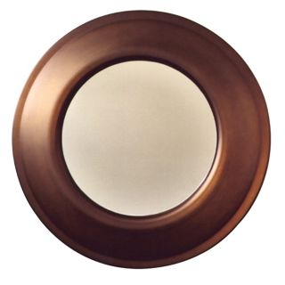 "Babette Holland Penny Bronze 26"" Wide Wall Mirror   #37487"