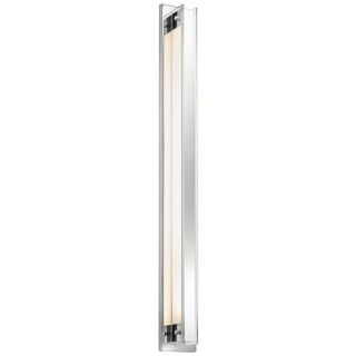 "Sonneman Accanto 40 1/4"" High Polished Chrome Wall Sconce   #W9675"