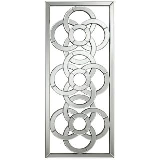 "Gaelic Screen 41"" High Rectangular Openwork Wall Mirror   #X6430"
