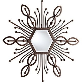 "Pico 39 1/2"" High Decorative Iron Wall Mirror   #X7215"