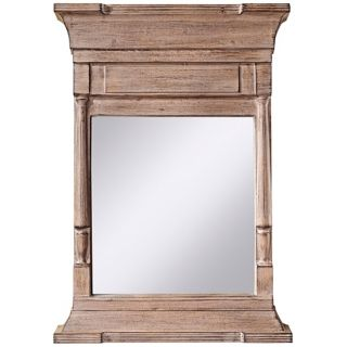 "Murray Feiss Buckley 40"" High Old Cedar Wall Mirror   #Y8440"