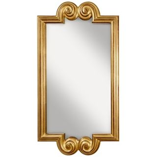 "Murray Feiss Melanie 45 1/4"" High Scroll Wall Mirror   #X5724"