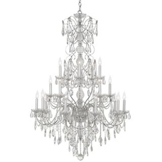 "Schonbek Century Collection 37"" Wide Crystal Chandelier   #N1562"