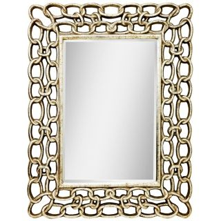 Kichler Link 52 1/2 High Silver Rectangular Wall Mirror   #X5786