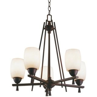 Ferros Collection ENERGY STAR Five Light Chandelier   #30740
