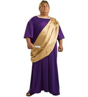 Roman Man Julius Caesar Robe Costume Adult Plus Size