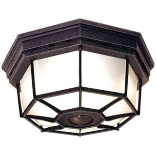 Octagonal Rust Energy Star Indoor   Outdoor Ceiling Light   #H7012