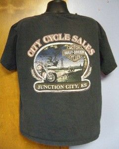 Vintage HARLEY DAVIDSON City Cycle Sales JUNCTION CITY, KS KANSAS