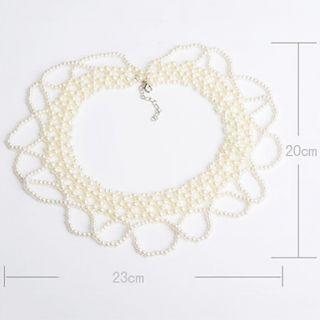 € 6.71   bordado de perlas collar de collar, ¡Envío Gratis
