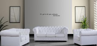 One Direction Wall Quote Sticker Girls Bedroom Wall Art Its got to Be