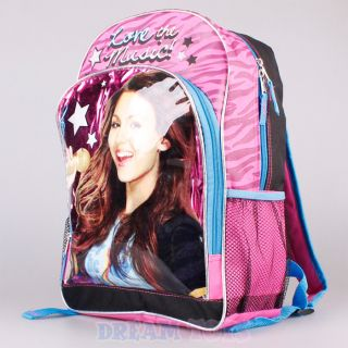 Victorious Victoria Justice Love Music Large 16 Backpack   Bag Tori