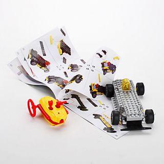 DIY 3D Phantom RC Car bloquea ladrillos de construcción de juguete