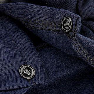 EUR € 12.87   navy stil outfit med Pin Badge för hundar (XS XL