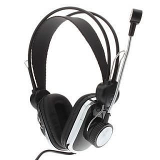 CH 102 aislamiento de ruido auriculares estéreo con micrófono para
