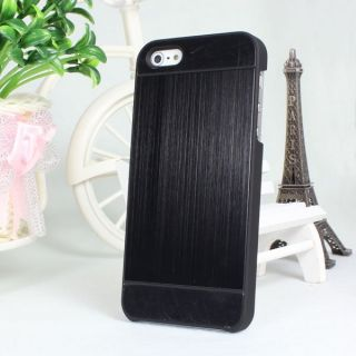 Luxury Aluminum Brush Hard Back Case Cover Skin for Apple iPhone 5 5g
