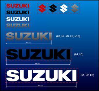 HQ Suzuki GSXR 600 750 1000 Srad Stickers Decals Pegatinas Adesivi