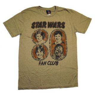 Star Wars Fan Club Junk Food Vintage Style Soft Movie T Shirt Tee