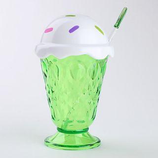 EUR € 9.19   grande tazza di crema gelato con un cucchiaio (colore