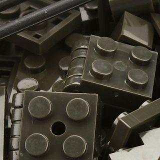 Sluban DIY 3D Puzzle de Defensa Aérea Bloques del Sistema ladrillos