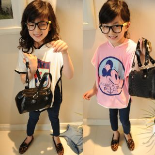 Child Girl Cute Clothes Cartoon Casual Clothing T Shirt K189