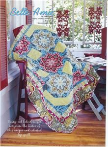 Belle Amie Fussy Cut Kaleidoscopes Quilt Pattern