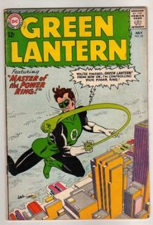 Green Lantern 22 vs Hector Hammond Kane Art Below Guide Price