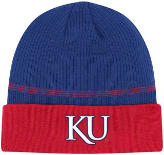 Kansas Jayhawks Blue Adidas 2011 Sideline Football Coaches Knit Hat