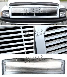 94 01 Dodge RAM 1500 2500 Lexury Chrome Grille Replacement Body