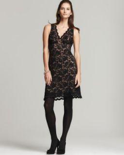 Karen Kane New Black Lace V Neck Sleeveless Cocktail Dress L BHFO