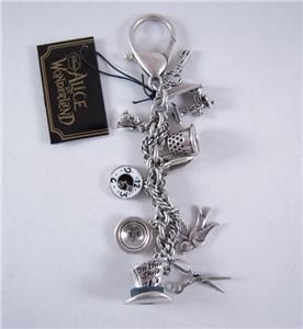 Tom Binns for Disney Couture Mad Hatter Keychain