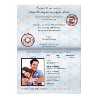 Passport Invitations, 112 Passport Announcements & Invites