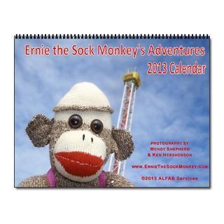 2013 Sock Monkey Calendar  Buy 2013 Sock Monkey Calendars Online