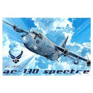 Wall Art  Posters  Air Force AC 130 gunship Wall