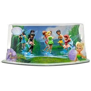 Tinker Bell and The Great Fairy Rescue Play Set 6pcs