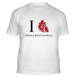 Love Obama Kenyan Flag Gifts & Merchandise  I Love Obama Kenyan