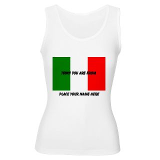 Green White Red Gifts  Green White Red Tank Tops  Personalized