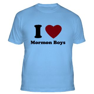 Love Mormon Boys T Shirts  I Love Mormon Boys Shirts & Tees