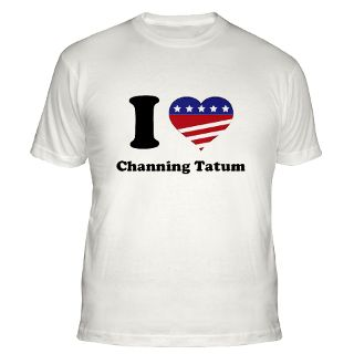 Love Channing Tatum Gifts & Merchandise  I Love Channing Tatum Gift