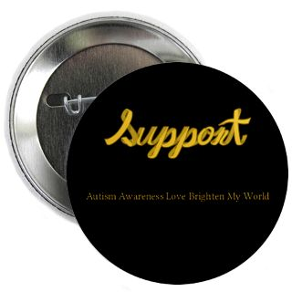 Support Autism Awareness Love Brighten My World Gifts & Merchandise