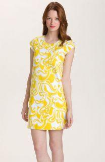 Kate Spade New York Mina Dress Shift Florence Broadhurst Lemon Curl 8