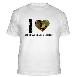Love My Coast Guard Daughter Gifts & Merchandise  I Love My Coast
