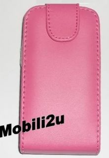 Flip Leather Case Pouch for Nokia Mobile Phone Pink Black Magnetic New