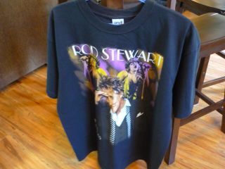Rod Stewart Rock Concert 2005 T Shirt Size Large Maggie May to