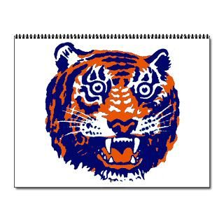tigers 2009 wall calendar for 2013
